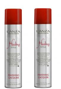 L'anza Healing Haircare Finishing Lacquer Duo