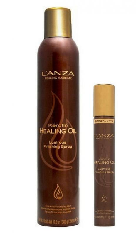 L'anza Keratin Healing Oil Finishing Spray 350ml+45ml