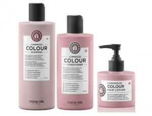 Maria Nila Luminous Color Shampoo, Conditioner & Leave-in