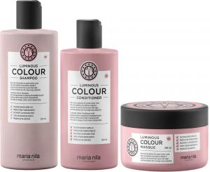 Maria Nila Luminous Color Shampoo, Conditioner & Mask