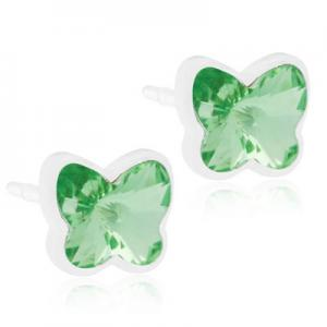 Blomdahl Medical Plastic Butterfly 5mm Peridot
