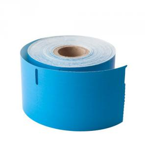 10 etikettrullar blå