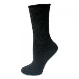 Strumpor Crew Socks Black