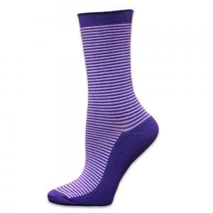 Strumpor Purple Stripes