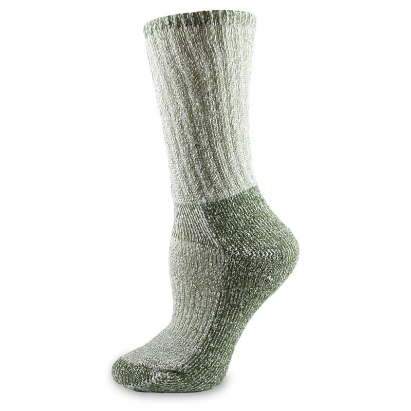 Wool Hiking Sock Olive