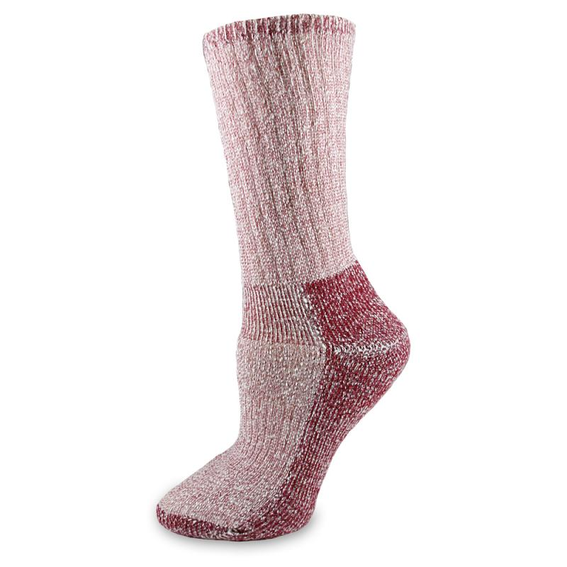 Wool Hiking Sock Raspberry