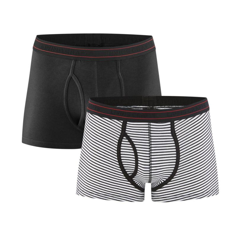 Boxer 2-pack Black/Natural