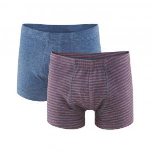 Boxer Barn 2-pack - Ruby/Indigo