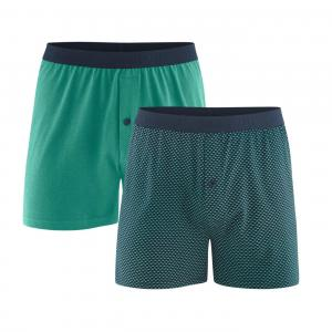 Boxer 2-pack Navy/Evergreen