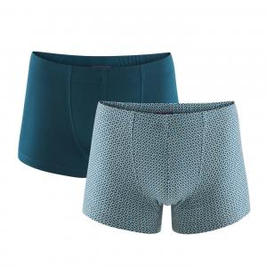 Boxer 2-pack Grey/Petrol