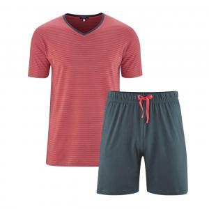 Pyjamas Kort Asphalt/Cayenne