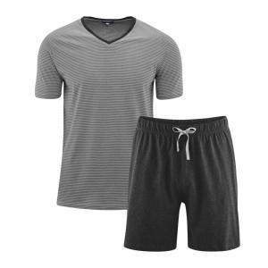 Pyjamas Kort Grey/Antracit