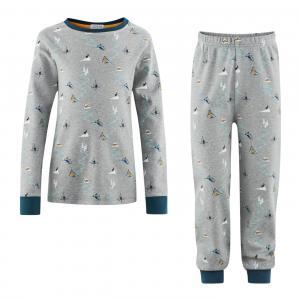 Pyjamas Barn Grey/Petrol