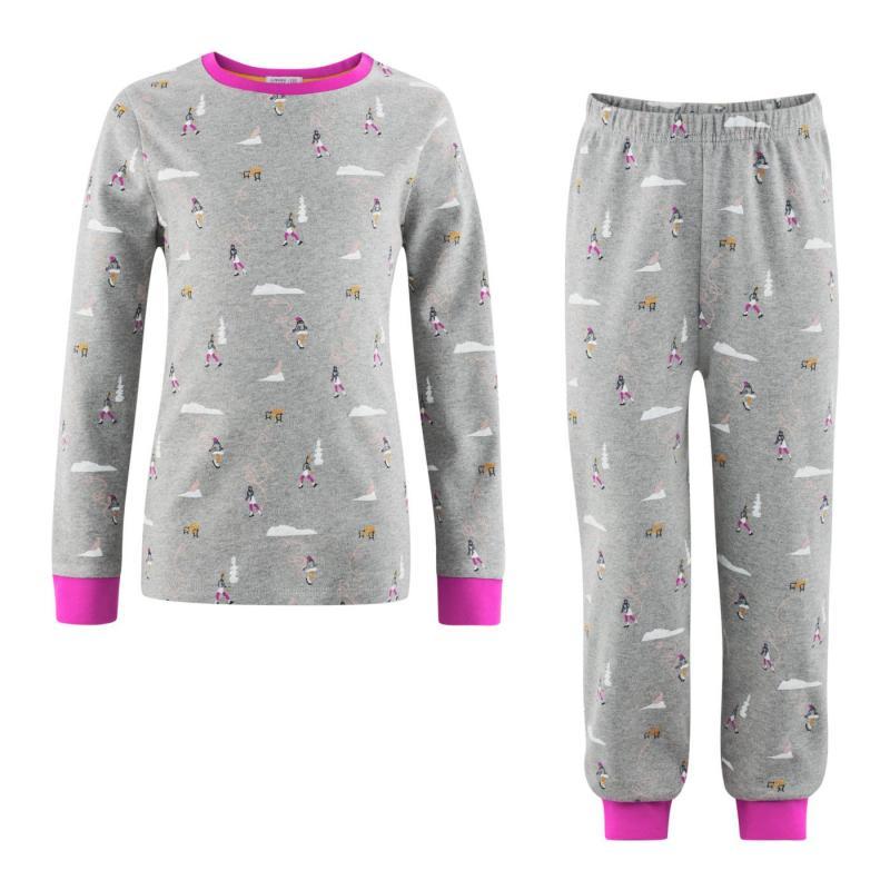 Pyjamas Barn Grey/Pink
