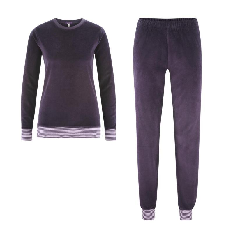 Pyjamas Hanna Velour Plum