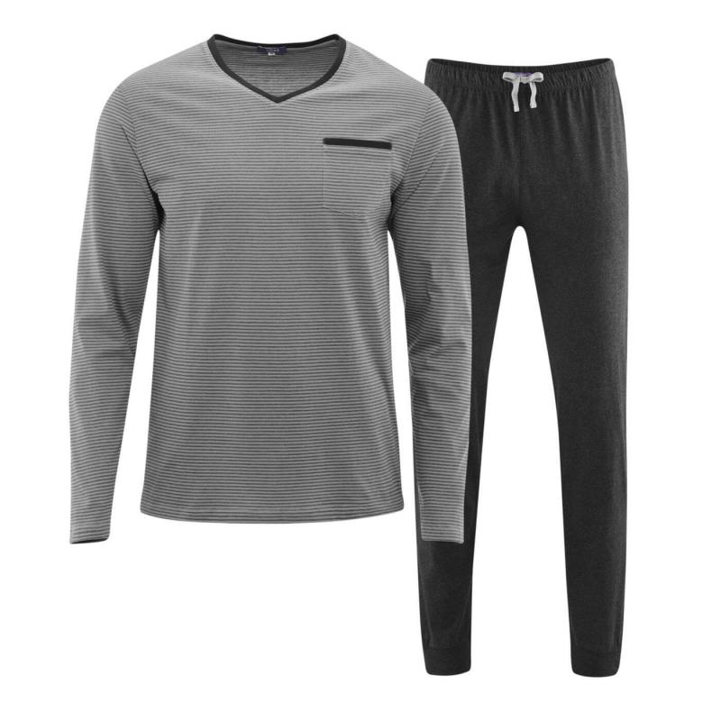 Pyjamas Herr Grey/Anthrazit