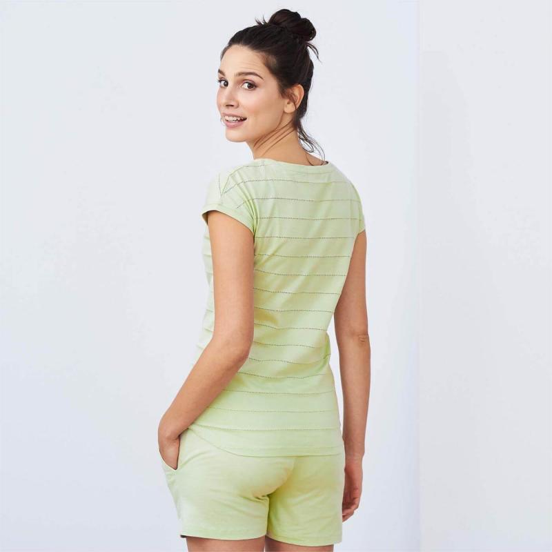 Pyjamas Ivorie Green