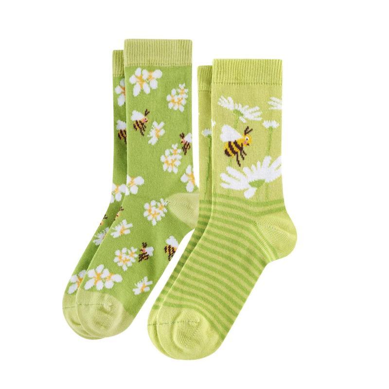 Strumpor 2-p Bee