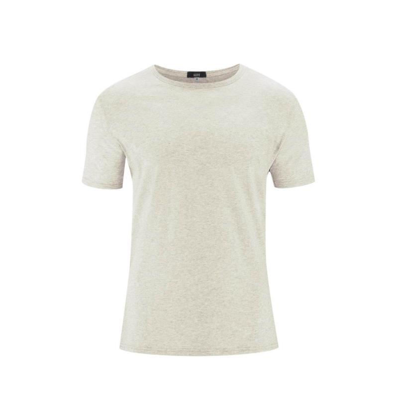 T-shirt 2-pack Natur Melange