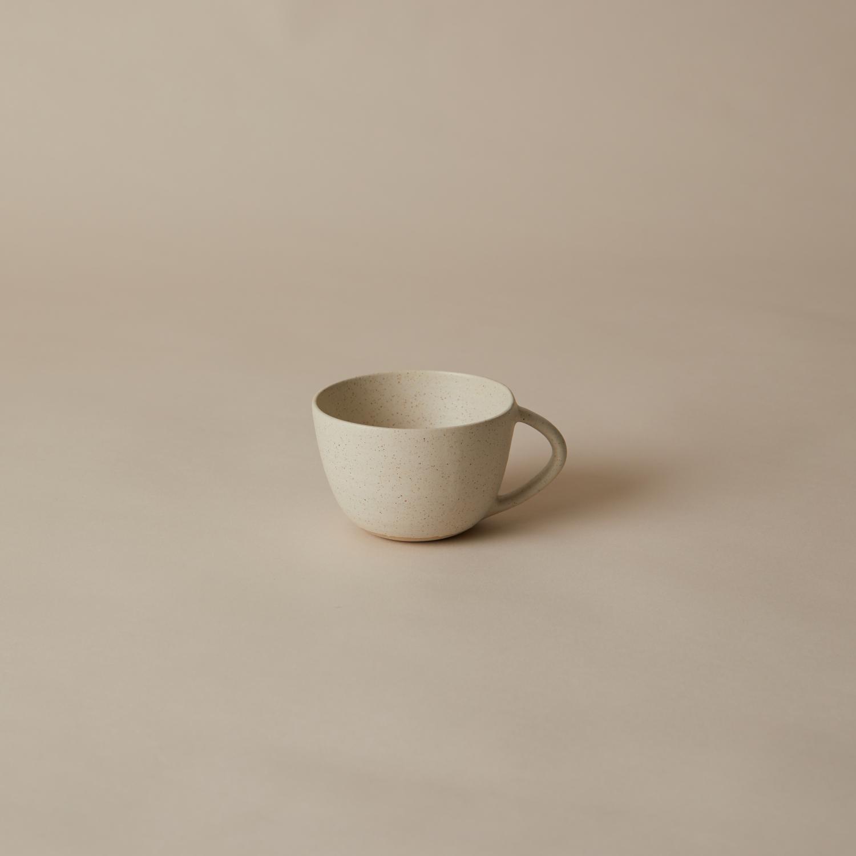 Slät kopp, Vintage white