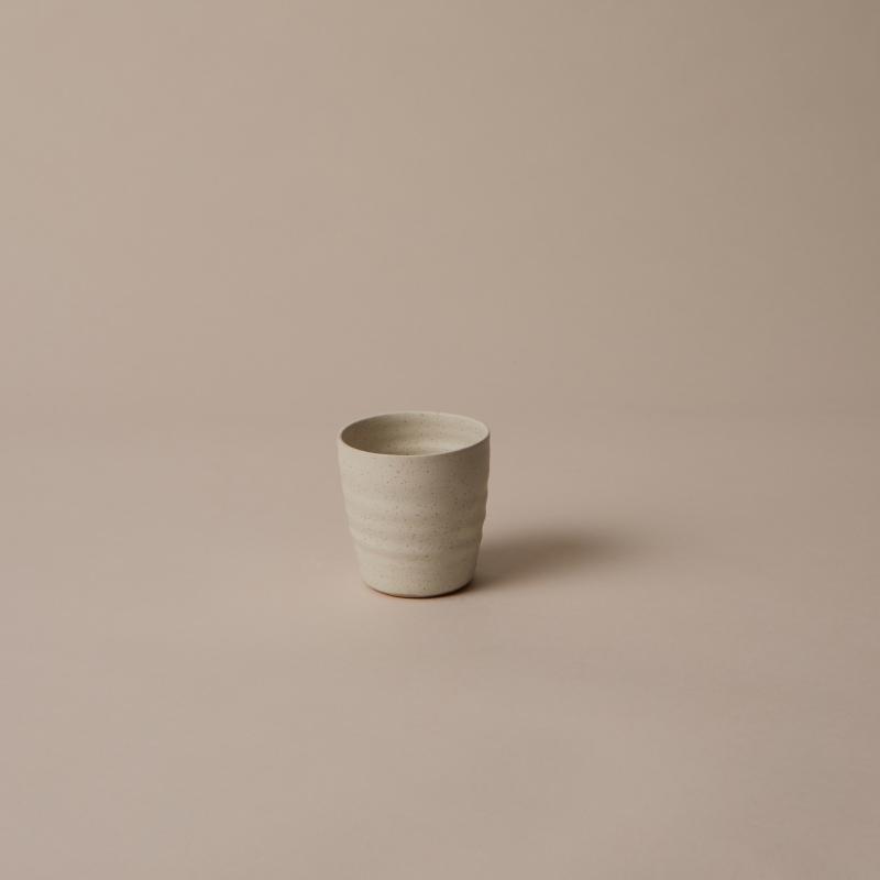 Espressokopp, Vintage white