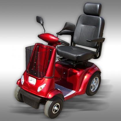 Elscooter Promenadscooter ES-2480 röd
