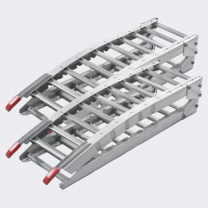 2x Uppkörningsramp stål ihopfällbar 630kg