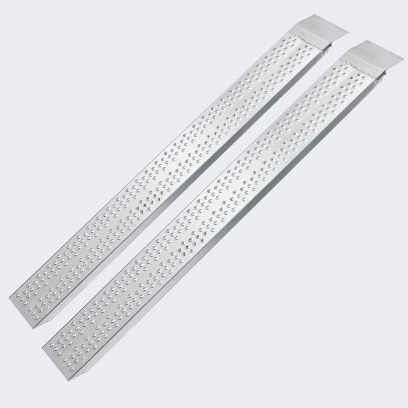 2x Uppkörningsramp aluminium 160cm 540kg