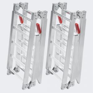 2x Uppkörningsramp 2x ihopfällbar aluminium