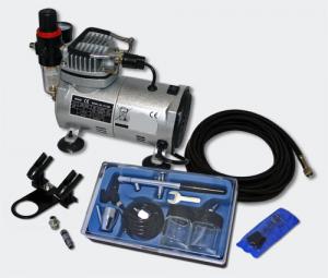 Start Airbrush kompressor Set ES18-2 +DA128
