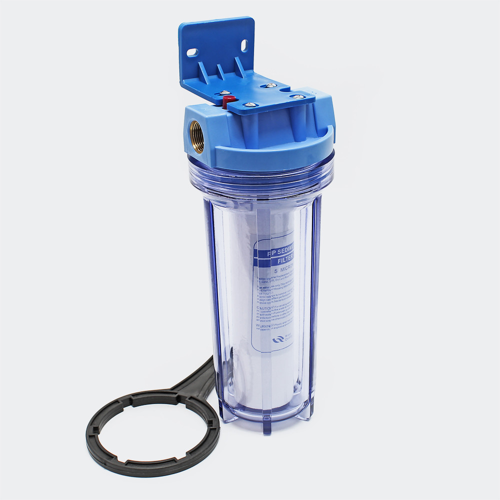 Bra Naturligt Vatten 26,16 mm 3/4 tum 1-steg vattenfilter YE-58