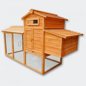 Höns-/smådjurhus A stort utrymme + värprede