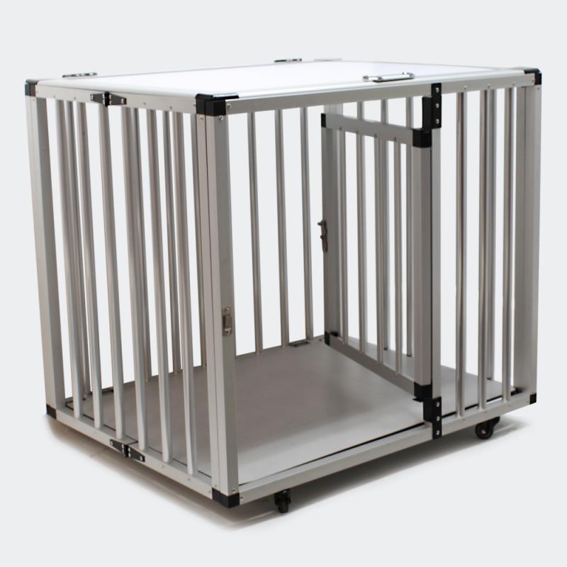 hopf llbar hund transportbur aluminium och mdf. Black Bedroom Furniture Sets. Home Design Ideas