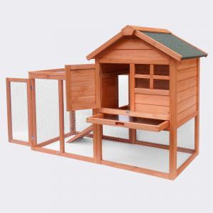 Smådjurshus G med förhöjd bur