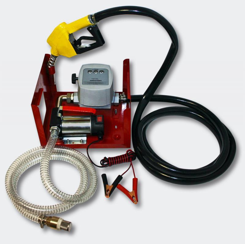 Självsugande dieselpump 24V 150W 40 L/min