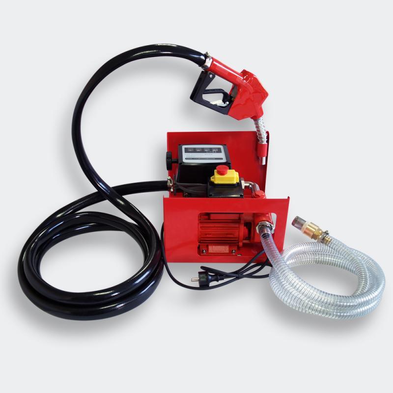 Självsugande dieselpump 230V 600W 40 L/min