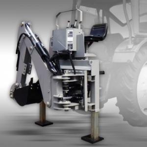 Bakgrävare/traktorgrävare EHSM-175 inkl.skopa