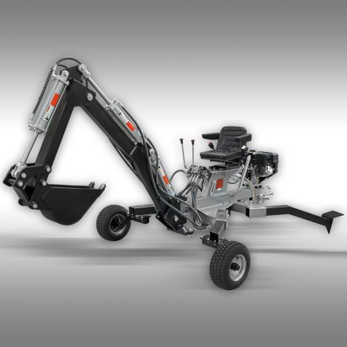 Monterad Minigrävare ATV ES-300 monterad och klart
