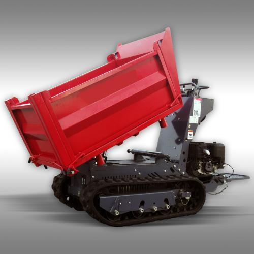 Larvdumper LD-1000, Bensinmotor, 3-vägs tipp, 1000 kg maxlast