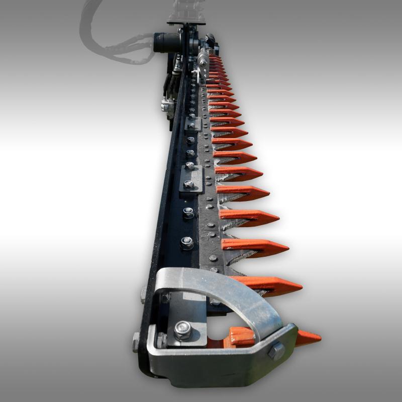 Hydraulisk häcksax FHK-180, kantklippare, skärstång