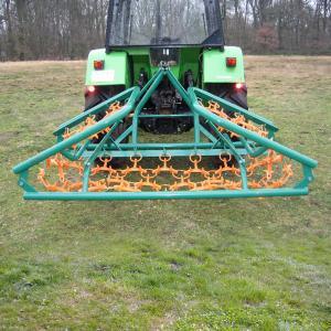 Gräsharv ES-500, 5 m bredd, planering av ridbanor, betesmarker
