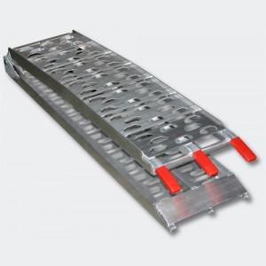 Hopfällbar lastramp aluminium maxlast 340kg