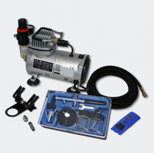 Start Airbrush kompressor Set ES18-2 +DA128