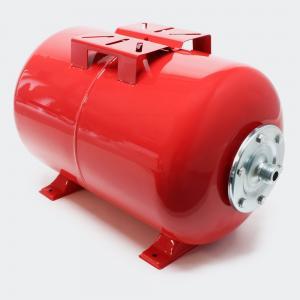 Hydropress tank 24L horisontell Röd