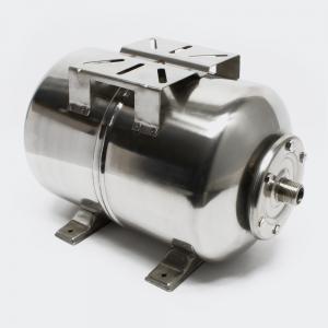 Hydropress tank 24L horisontell Rostfritt stål
