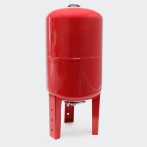 Hydropress tank 50L vertikal Röd EPDM