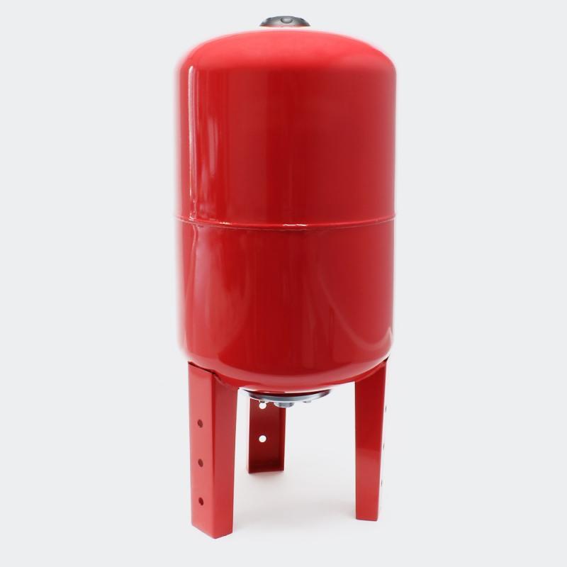 Hydropress tank 100L vertikal Röd EPDM