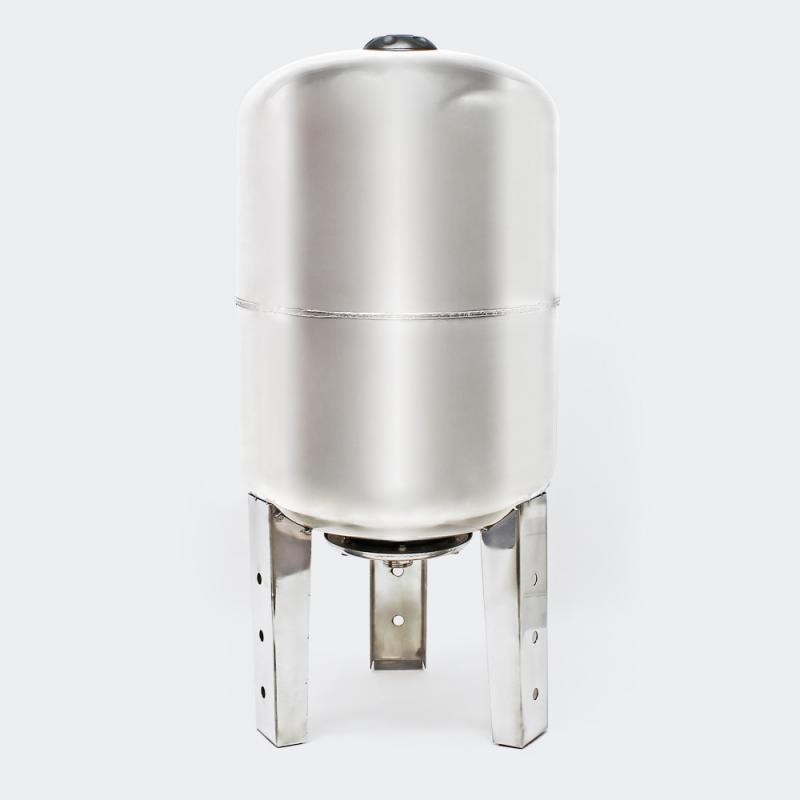 Hydropress tank 100L vertikal Rostfritt stål EPDM