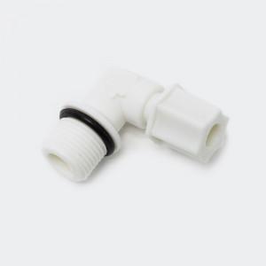 """Jaco-Anslutning till slang 16,41 mm (3/8"""") 90°"""