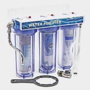 "10"" (254 mm) 3-Stegs dricksvattenfilter 3/4 tum (26,16 mm)"